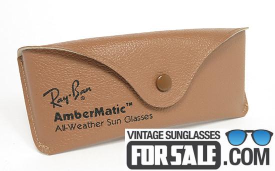 Ray Ban Shooter Ambermatic Black Bausch & Lomb
