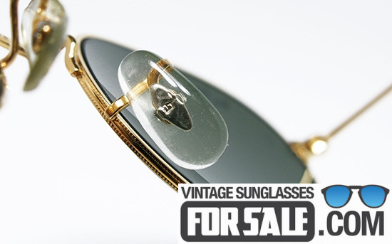 vintage ray ban nose pads