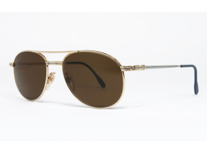 Desil ECLISSE-1 DP 14 KT.R.G ROLLED GOLD original vintage sunglasses