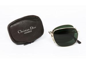Christian Dior 2288 col. 40 FOLDING original vintage sunglasses CASE SET