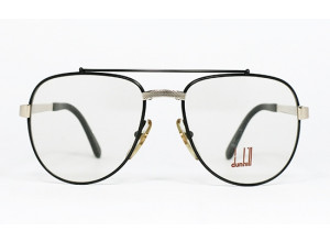 Dunhill 6029 col. 94 Black & Gold aviator frame front