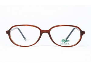Lacoste CLUB 7326 P5042 Transparent Brown & Black frame front