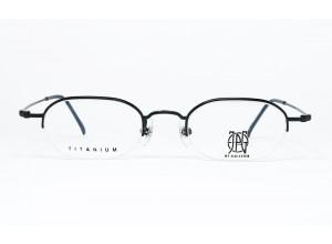 JPG BY GAULTIER 57-0018 TITANIUM-P Nylor BLACK original vintage frame front