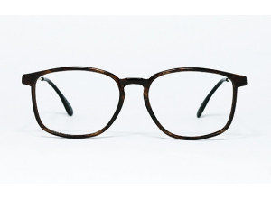Lacoste 742 F col. 7071 Marbled Brown&Gold frame front