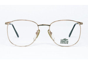 Lacoste 777 F C L22 Gold & Green frame front