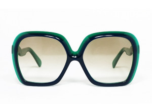Silhouette MOD 587 COL 960 Green & Blue front