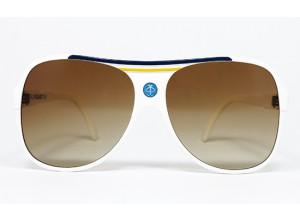 Vespa METALL VIGANO' ITALY vintage sunglasses front