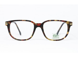 Lacoste 755 FL col. 9409 Tortoise & Gold frame front