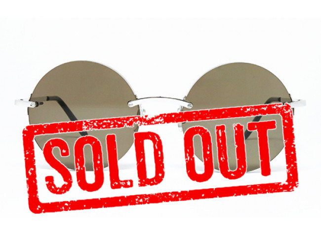 Cartier ROUND Rimless Custom Lenses SOLD OUT