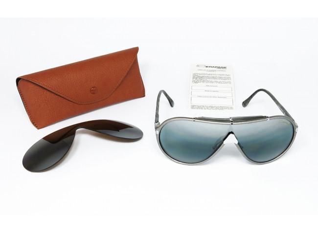 Derapage by Vitaloni MASK 66 FS Double Gradient Mirror original vintage sunglasses SET