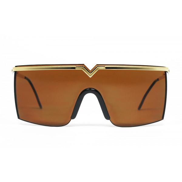 f0b9f1dc52 Gianni Versace MOD. 790 col. 030 Brown Gold mask