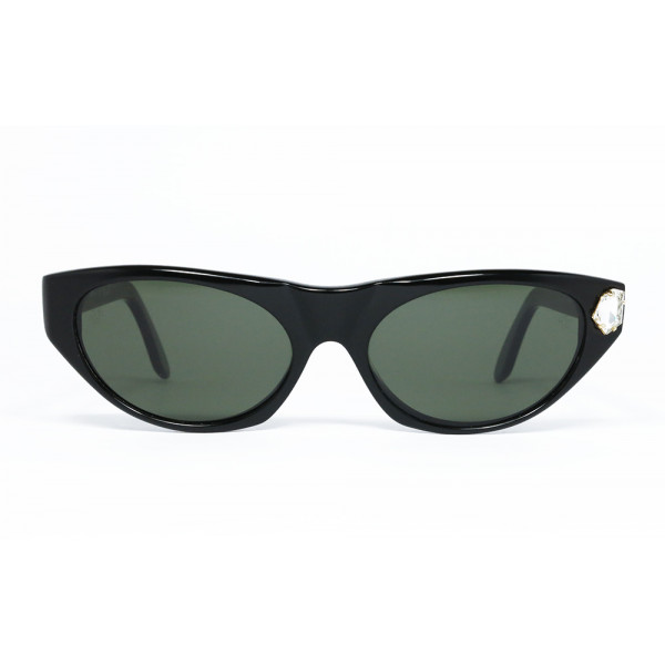 NEW Emanuel Ungaro Vintage Sunglasses Turquoise /& Chrome