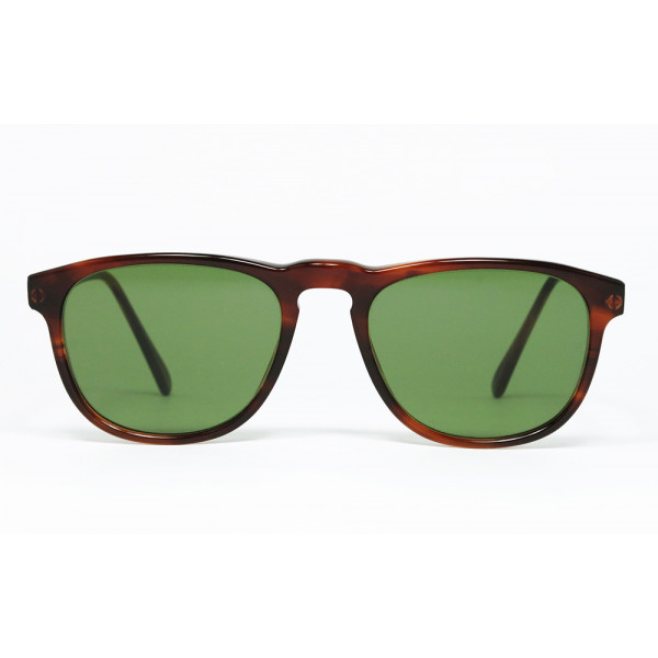 6ea11c7067 Ray Ban GATSBY STYLE 2 W0953 BL Mock Tortoise Green square sunglasses