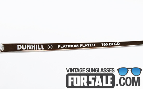 Dunhill 6189 col. 70 PLATINUM PLATED front