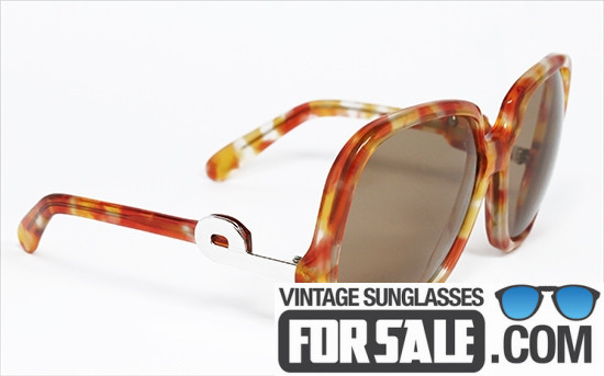Silhouette 565 3-12 original vintage sunglasses front
