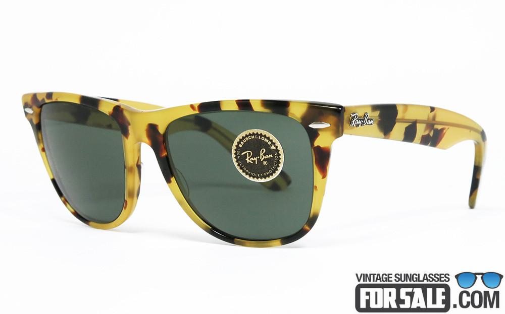 Ray Ban WAYFARER II Yellow Tortoise SOLD OUT
