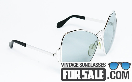 Silhouette BUTTERFLY Oversize original vintage sunglasses front