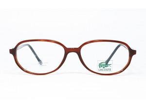 Lacoste CLUB 7326 P5042 Transparent Brown & Black frame front