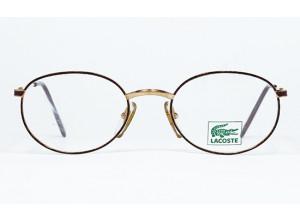 Lacoste 912 Spotted Violet & Gold frame front